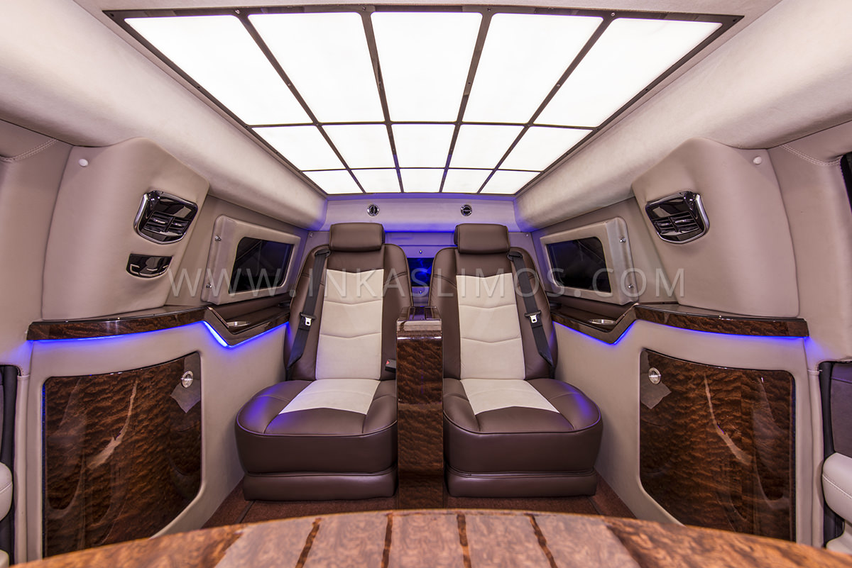 Cadillac Escalade Vip Limousine Inkas Professional Vehicle