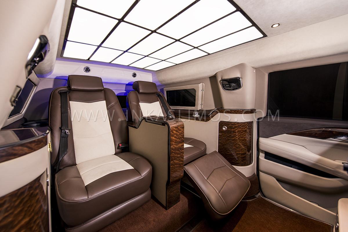 2017 Escalade Interior >> Cadillac Escalade VIP Limousine - INKAS Professional Vehicle Manufacturing