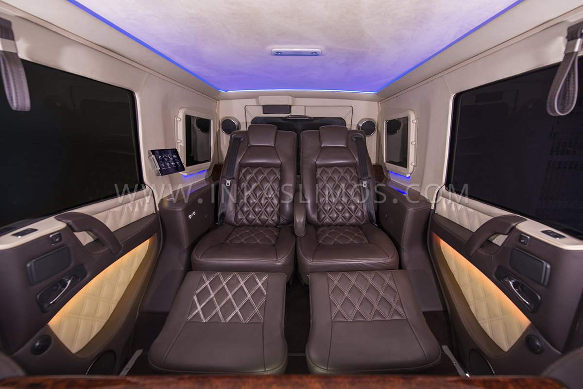 Mercedes Benz G63 Limousine Inkas Professional Vehicle Manufacturing