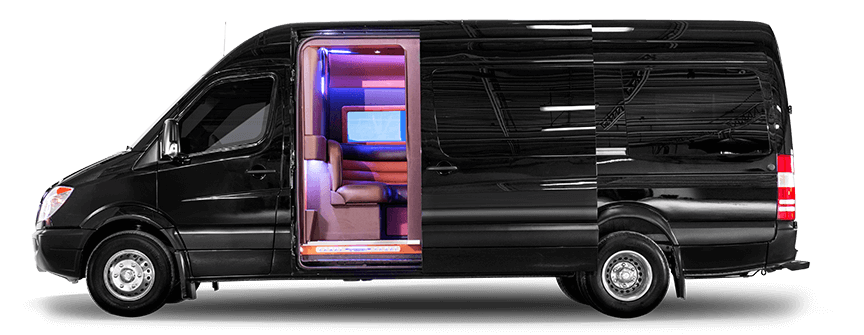 Custom Mercedes-Benz Sprinter Party Bus